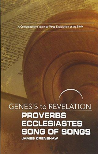 9781501848469: Genesis to Revelation: Proverbs, Ecclesiastes