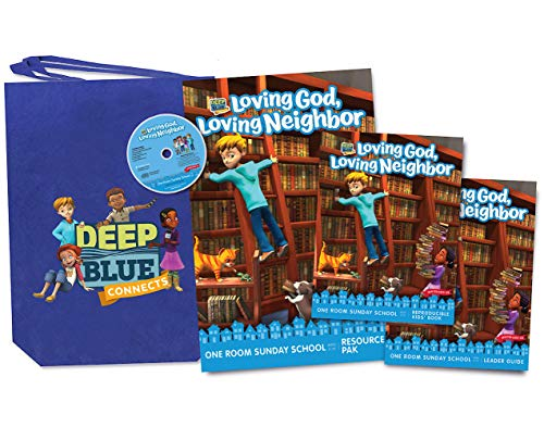 9781501875922: Deep Blue Connects One Room Sunday School Winter 2019-2020 Kit: Loving God, Loving Neighbor Ages 3-12