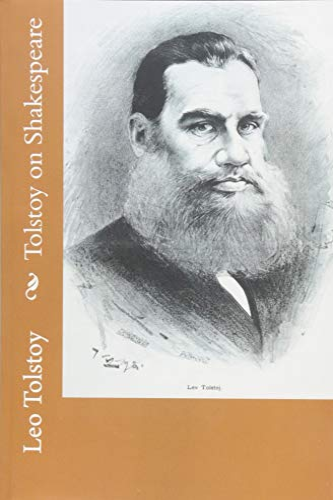 9781502387028: Tolstoy on Shakespeare