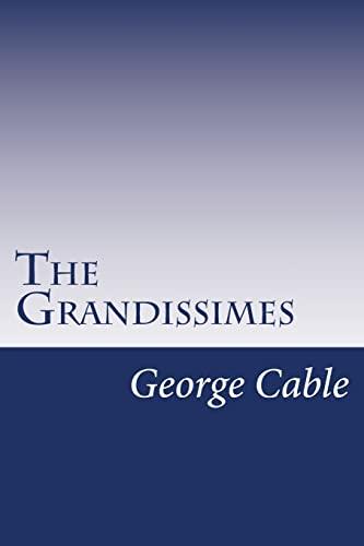 9781502404091: The Grandissimes