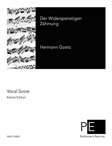 9781502459411: Der Widerspenstigen Zähmung (German Edition)