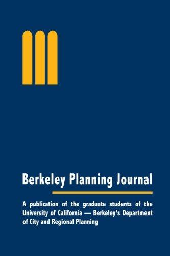 Vol. 27: Berkeley Planning Journal (B&W): Berkeley Planning Journal
