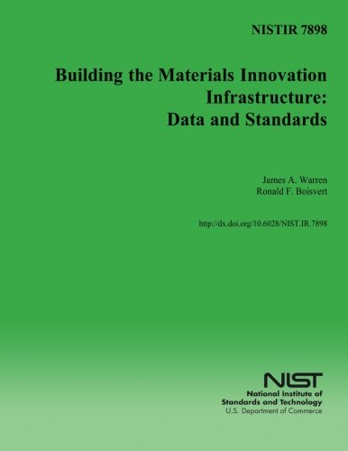 Nistir 7898: Building the Materials Innovation Infrastructure: U S Department