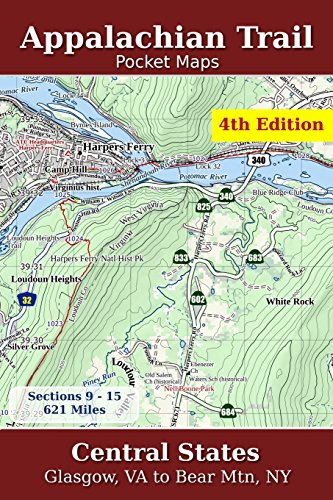 9781502497086: Appalachian Trail Pocket Maps - Central States: Volume 2