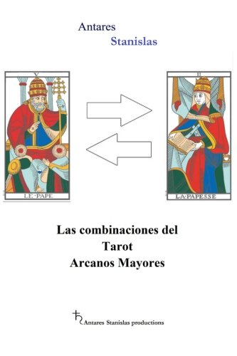9781502507921: Las combinaciones del Tarot Arcanos Mayores