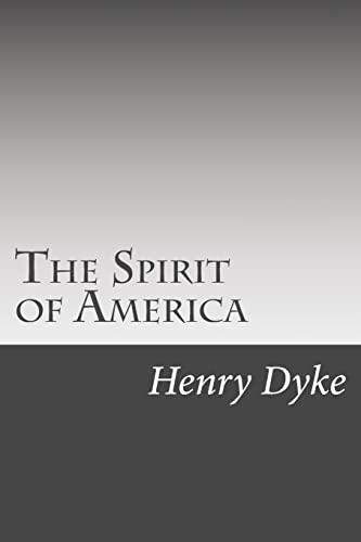 9781502510556: The Spirit of America