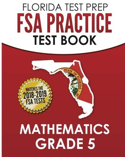 9781502517395: FLORIDA TEST PREP FSA Practice Test Book Mathematics