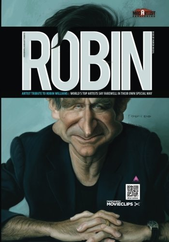 Robin: Artist Tribute to Robin Williams: WORLDs: Marcin Migdal