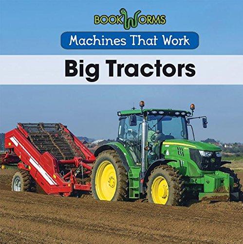 9781502604002: Big Tractors (Machines That Work)