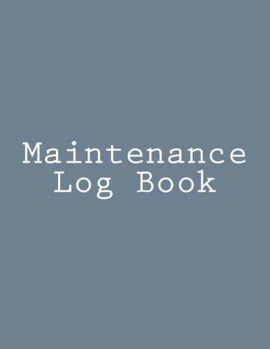 Maintenance Log Book: Inc., Gelding Publishing