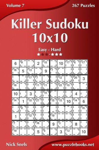 9781502767783: Killer Sudoku 10x10 - Easy to Hard - Volume 7 - 270 Puzzles