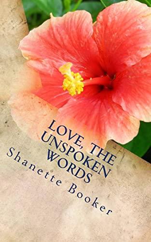 Love, The Unspoken Words: Booker, Mrs Shanette