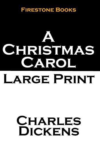 9781502786883: A Christmas Carol: Large Print