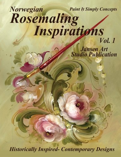 9781502809551: Norwegian Rosemaling Inspirations