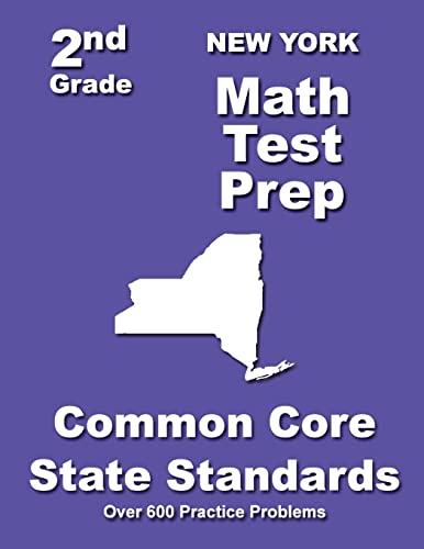 New York 2nd Grade Math Test Prep: Common Core State Standards: Teachers' Treasures