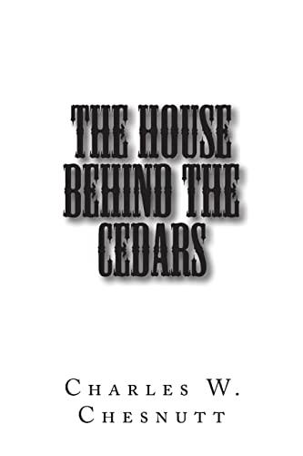 9781502849625: The House Behind the Cedars