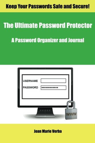 9781502860668: The Ultimate Password Protector: A Password Organizer and Journal