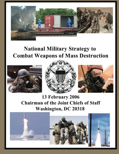 National Military Strategy to Combat Weapons of: Chairman Of the