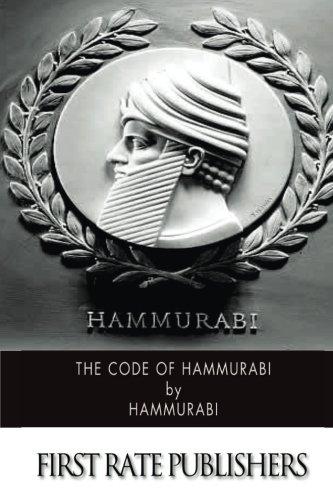 9781502895059: The Code of Hammurabi