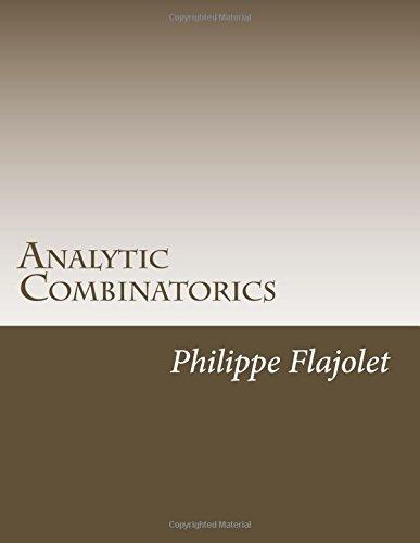 9781502925794: Analytic Combinatorics