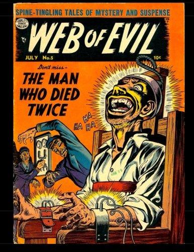 9781502930835: Web Of Evil #5: Golden Age Horror Comic