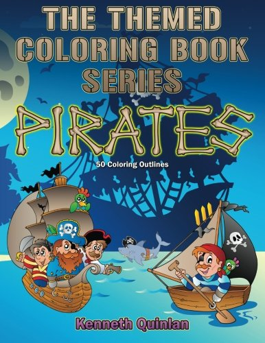 9781502985286: The Themes Coloring Book Series: Pirates