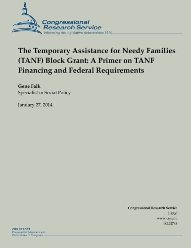 9781502999580: The Temporary Assistance for Needy Families (TANF) Block Grant: A Primer on TANF Financing and Federal Requirements