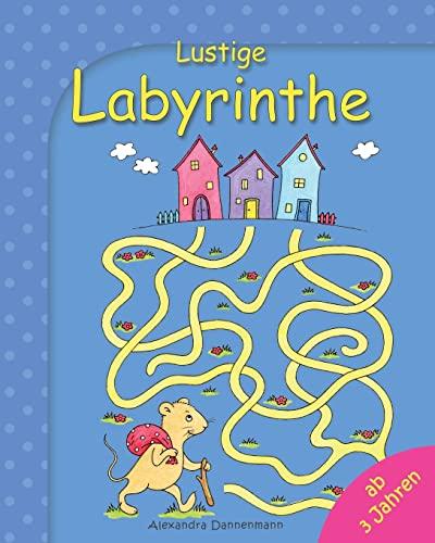 9781503003071: Lustige Labyrinthe: Rätselspaß für Kinder ab 3 Jahren: Volume 1 (Labyrinthe für Kinder)