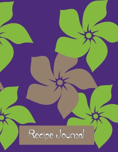 9781503023888: Recipe Journal: Notebook for Recipes, 120 recipe pages plus index, 8.5x11 with purple retro cover. Ideal for collecting and sharing your favorite recipes.