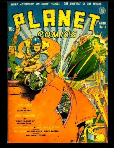9781503031067: Planet Comics #4: Golden Age Science Fiction Comics