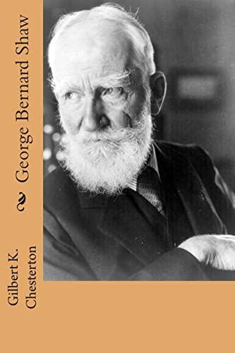 9781503064966: George Bernard Shaw