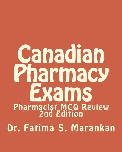 9781503079458: Canadian Pharmacy Exams: Pharmacist MCQ Review