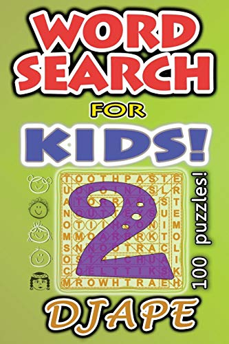 9781503084063: Word Search for Kids: 100 puzzles (Volume 2)