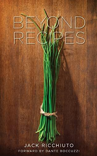 Beyond Recipes: Ricchiuto, Jack
