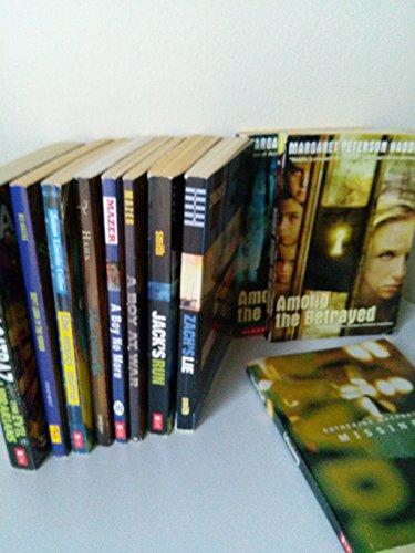 9781503094994: Classroom Library Boys Picks: Zach's Lie ; Jack's Run; Shadow Children Series (#1-3); Alcaraz Evil Librarians; Missing