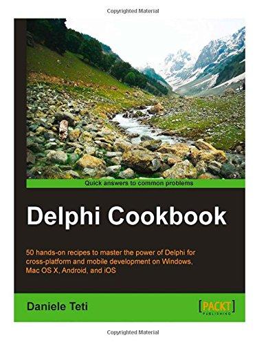 9781503186712: Delphi Cookbook