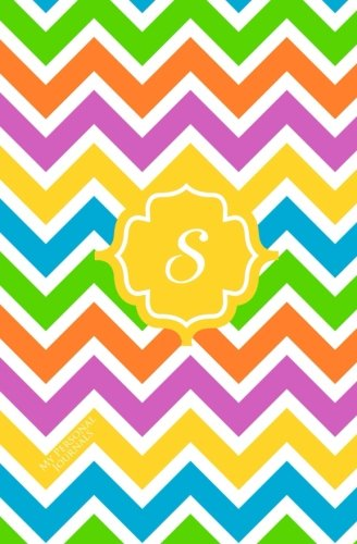 9781503191785: S: Personalized Initial Journal/Notebook/Diary (Colorful Chevron Monogram Journals) (Volume 19)