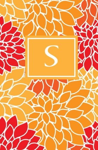 9781503215931: S: Personalized Initial Journal/Notebook/Diary (Fall Mums Monogram Journals) (Volume 19)
