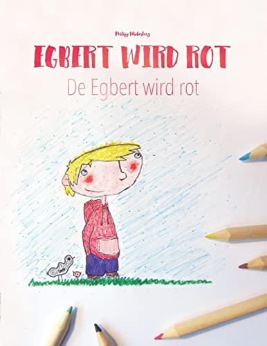 Egbert Wird Rot/de Egbert Wird Rot: Malbuch/Kinderbuch: Winterberg, Philipp