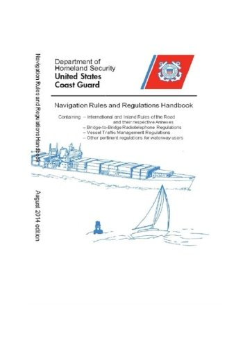 9781503287501: Navigation Rules & Regulations Handbook 2014: Black & White