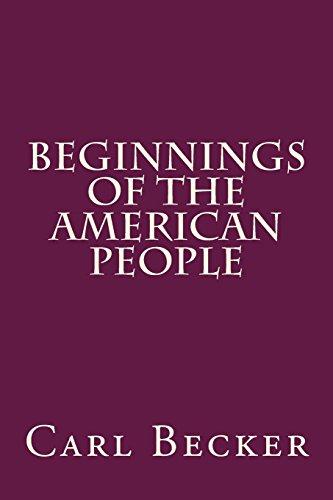 9781503300552: Beginnings of the American People