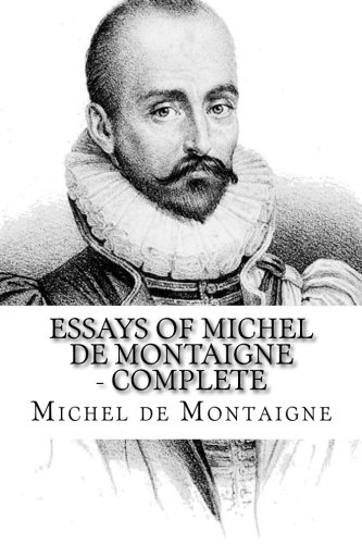 Montaigne essays summary