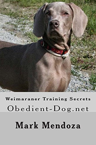 9781503318502: Weimaraner Training Secrets: Obedient-Dog.net