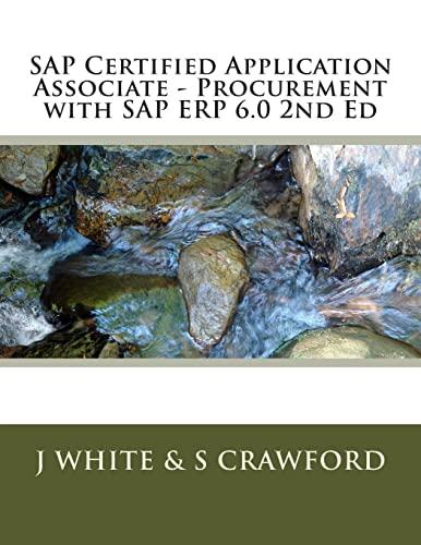 9781503321090: SAP Certified Application Associate - Procurement with SAP ERP 6.0 2nd Ed