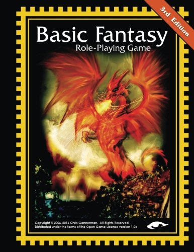 9781503334946: Basic Fantasy Role-Playing Game 3rd Edition