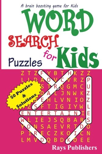 Word Search Puzzles for Kids (Volume 1): Rays Publishers