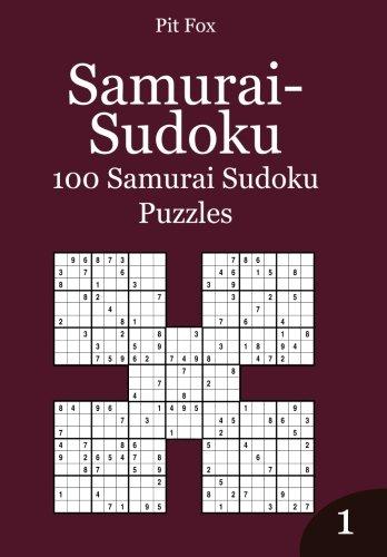 9781503378650: Samurai-Sudoku: 100 Samurai Sudoku Puzzles