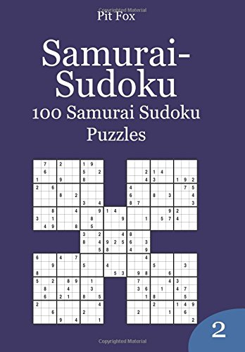 9781503378803: Samurai-Sudoku: 100 Samurai Sudoku Puzzles