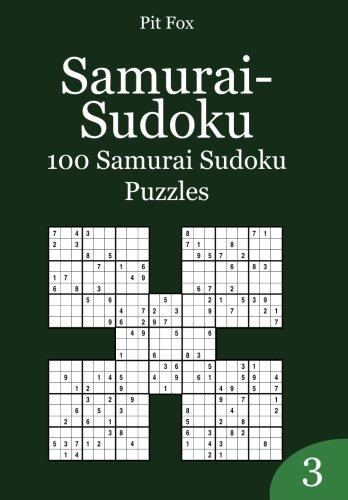9781503378889: Samurai-Sudoku: 100 Samurai Sudoku Puzzles