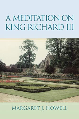 9781503567238: A Meditation on King Richard Iii